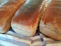 Tre deilige og smakfulle brød, som kun skal heves en gang.