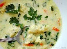 Zupa szczypiorkowa z pysznymi kluseczkami