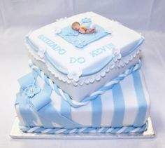 Torta Baby Shower, Baby Shower Cakes For Boys, Baby Boy Cakes, Baby Shower Diapers, Baby Christening Cakes, Baby Shower Cake Designs, Pregnant Belly Cakes, Boys 1st Birthday Cake, Ivory Wedding Cake