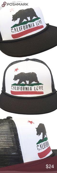 Brooklyn Hat Co California Love Flat Brim Trucker Brooklyn Hat Co California  Love Flat Brim Trucker 783b9f6347a
