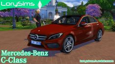 Lory Sims: Mercedes-Benz C Class • Sims 4 Downloads  Check more at http://sims4downloads.net/lory-sims-mercedes-benz-c-class/