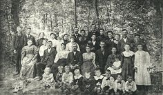 Burton - Hall Families about 1900 Possibly Cherokee County, OK We Are Family, Cherokee, Vintage Photos, Families, Painting, Painting Art, My Family, Paintings, Painted Canvas