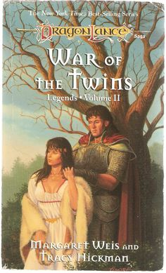 War of The Twins. by Margaret Weis and Tracy Hickman. Dragon Lance Legends Vol. 2. Re-print.