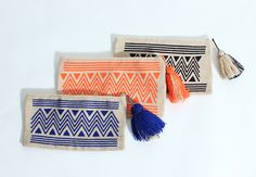By sea wayuu clutch