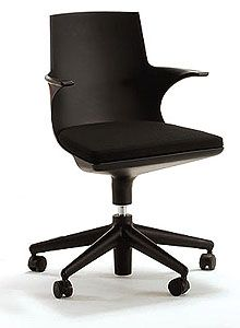 Kartell Spoon Modern Office Chair by Antonio Citterio
