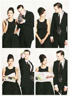 Jenna-Louise Coleman + Matt Smith #DoctorWho