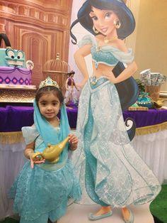 Aladdin Princess Jasmine/Arabian Birthday Party
