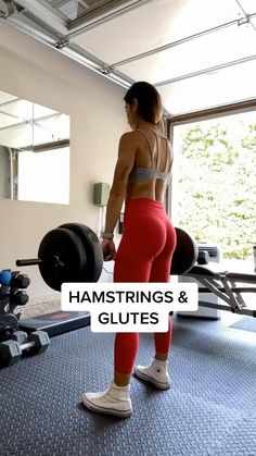 Leg And Glute Workout, Gym Workout Videos, Gym Workouts, At Home Workouts, Gym Workout Routines, Lifting Workouts, Gym Routine, Fitness Workout For Women, Body Fitness