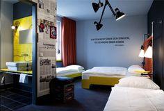 HOSTEL- Superbude St.Pauli hostel | Interiors Design