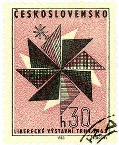 Czechoslovakia postage stamp