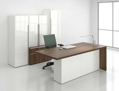 modern contemporary office desks and furniture executive office glass italian desks - Contemporary Desk Designs