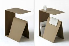 Habitual Bedside Table, designed by Stephane de Sousa