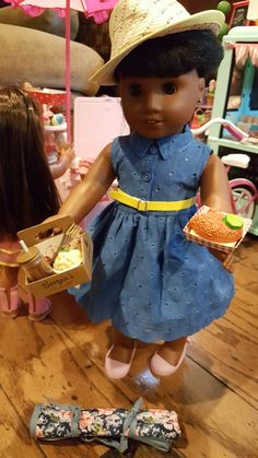 American Girl Brand Doll Melody Ellison is living this Georgia's Chicken #americangirlbrand #joy2everygirl #melodyamericangirldollbeforever @agofficial