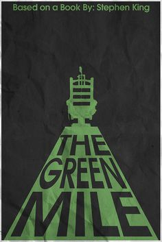 The Green Mile (1999) ~ Minimal Movie Poster by Christian Frarey