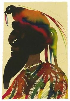 Artist page for Chris Ofili - art, artworks, exhibitions Photo Illustration, Illustrations, Chris Ofili, Black Artists, African Art, Artist At Work, Great Artists, Contemporary Art, Watercolor