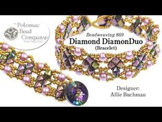 Diamond DiamonDuo Beaded Bracelet, My Crafts and DIY Projects