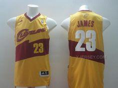 http://www.yjersey.com/nba-cleveland-cavaliers-23-james-gold-new-revolution-30-throwback-jerseys.html Only$36.00 #NBA CLEVELAND #CAVALIERS 23 JAMES GOLD NEW REVOLUTION 30 THROWBACK JERSEYS Free Shipping!
