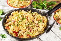 Cajun Shrimp and Sausage Pasta - Yummy Addiction