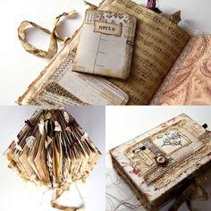 Nik the Booksmith vintage junk journal
