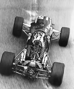 1968 - Richard Attwood's (#15) BRM P126 - Monaco Grand Prix - Qualified 6th, Time 1:29.6 - Finished 2nd