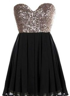 glitter dress #homecoming #nye #sweetheartdress