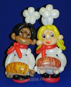 Little Bakers Commissioned By Warburtons Bakery - Balloon Art By Twistina The Amazing Balloon Lady