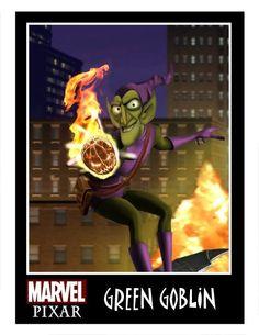 Awesomely Rad Pixar Style Superhero Character Art — GeekTyrant