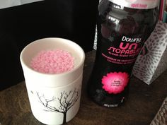 Yes You Can. Use Scentsy Lamps to melt Downy unstoppables and save big on the cost of Wax.