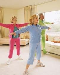Stay active during your later years in life with these great senior-friendly exercises.