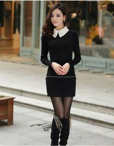 YLKE® グラマラス 綿 安心の高品質 レディース ワンピース 全3カラー ウェストにファスナー付き長袖ワンピース。襟部分にビーズがあり、アクセントになる。気になるボディーラインもカバーしてくれる優秀なデザインでパーティー用としてお洒落に着こなせる。 http://www.cithy.jp/ylke-visual-cotten-women-one-piece-dress-3colors-w9520265a.html