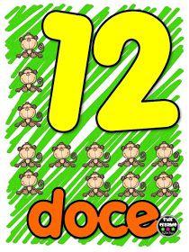 Educación Preescolar, la revista: Números del 12 al 20