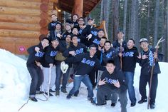 """Lambdas organized a Junior Active retreat in Leavenworth, Washington for all of the newly crossed members. This was the first time the Alpha Zeta Chapter had a #retreat off site from the University District and it proved to be an invaluable experience for all attendees. Each new member is a work of art: handcrafted and unique in his own way. But don't take our word for it. Come say """"hi"""" to the neos when you get the chance."""