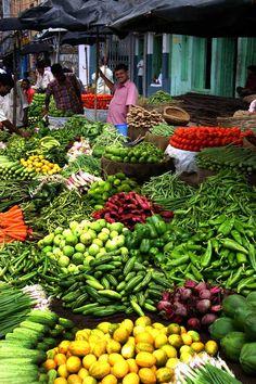 Assam Vegi Market , India