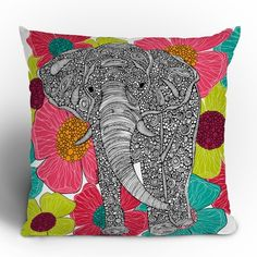 DENY Designs Valentina Ramos Groveland Throw Pillow- girls would love this for emily