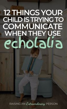 Echolalia: 12 Things Your Child Is Trying To Communicate By Using Echolalia // Delayed Echolalia and Immediately Echolalia Autism Learning, Autism Education, Autism Sensory, Autism Parenting, Autism Activities, Autism Resources, Therapy Activities, Autism Articles, Language Activities