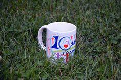 чаша  размери: 8 x 10 см материал: керамика цвят: бял цена: 6 лв.