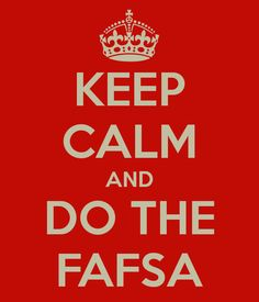 The Free Application for Federal Student Aid (FAFSA) determines student eligibility to receive many forms of financial aid (scholarships, grants, work study, and loans).