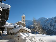 Saint Veran, le plus haut village d'Europe