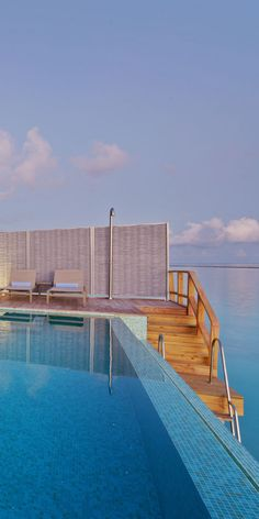 From the pool, into the Ocean! #Maldives #Paradise #Island #Holiday #Destinations #Travel #Luxury - http://www.puredestinations.co.uk/resort/kuramathi-island-resort/