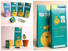 Student Spotlight: Sprout Seed Packs - The Dieline -