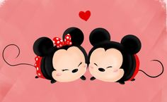 """Wallpaper Iphone Disney - """" Mickey and Minnie Tsum Tsums. I really like Tsum Tsums though . Tsum Tsum Wallpaper, Mickey Mouse Wallpaper Iphone, Cute Disney Wallpaper, Iphone Wallpaper, Mickey Mouse And Friends, Mickey Minnie Mouse, Disney Mickey, Tsumtsum, Disney Tsum Tsum"""