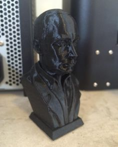 Something we liked from Instagram! Bust of Vladimir Putin #3dprint #3dprinted #makerbot #printrbot #robotics #robot #robots #3dprinter #3dprinting #3d #putin #3dprinted by klebtech check us out: http://bit.ly/1KyLetq