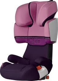 Cybex Solution X-Fix high-back, front-facing booster seat