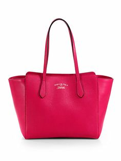 Gucci - Gucci Swing Leather Tote -