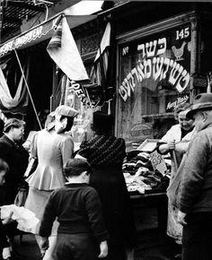 New York Architecture Images- black and white new york Underwear and kosher chickens.