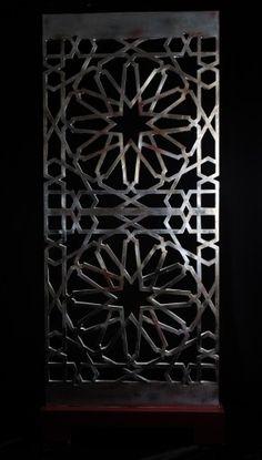 Designe artisanale marocaine aluminium arte