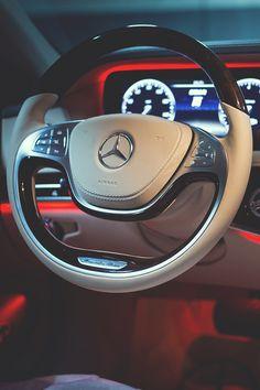 Mercedes Steering Wheel. #Class #Benz