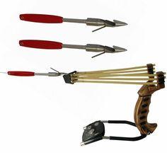 Hunting Sniper Pro Folding Wrist Brace Slingshot Catapult  Fishing Broadheads #Unbranded