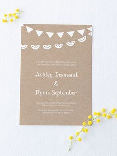 invitation template word