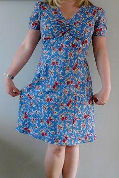 Colette Patterns Oolong dress